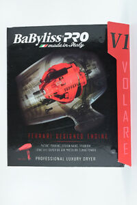 Babyliss Pro Ferrari V1 Hair Dryer