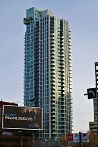 Brand new downtown 1 bdrm condo with mountain views