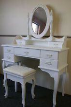 NEW 7 DRAWER FRENCH PROVINCIAL COUNTRY DRESSING TABLE DESK MIRROR Chipping Norton Liverpool Area Preview