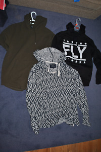 3 Large Hoodies - Great Condition