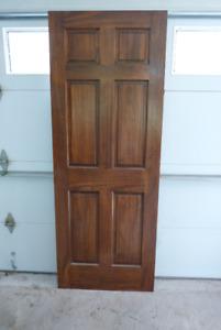 Solid Pine Doors x 2