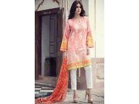 Khadi Maria b Gul Ahmed high quality heavy embroidered lawn summer Eid big sale unstitched wow deal
