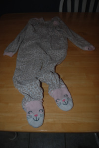 Toddlers Zippered PJs - Girls - $2.00