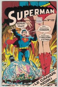 1978, SUPERMAN, #132, 32 PAGES EN COULEUR