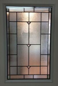 "Prehung Sytem with 22"" x 36"" Decorative Doorlite"