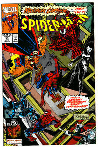 SPIDER-MAN COMIC BOOK 35 MAXIMUM CARNAGE 4 OF 14