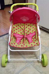 Cabbage Patch Twin Stroller