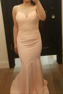 Prom/Formal Light Pink Dress size small