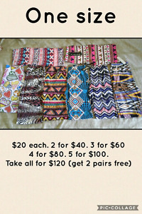 O/S Leggings. NEED GONE!