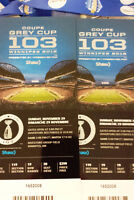 Grey Cup Tickets - South End Zone