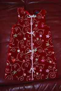 Christmas dress and jumper size 4