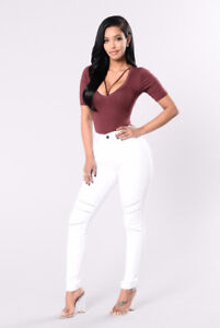 """2X White Jeans by Fashion Nova. """"That's Meshed up"""" Jeans"""