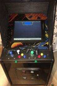 Modified Retro 70s/80s free standing Arcade Machine