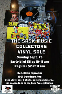 The Saskatchewan Music Collectors 2016 Fall Show And Sale