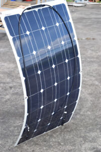 flexible solar panels 100 W 18 V