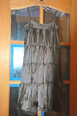 Brown Girls Dresses (Gap girls dresses XL 12, brown with sparkles ,)