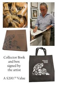Signed Collector's Book: Indigenous Abraham Anghik Ruben