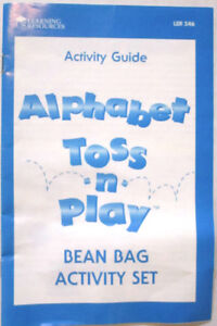 BEAN BAG ALPHABET TOSS N PLAY by Learning Resources. Windsor Region Ontario image 5