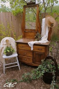 Antique Washstand Completely Restored