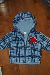 Cherokee Baby Brand Heavy Weight Hooded Zip Jacket