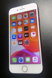 Iphone 7 128gb unlocked limited Red edition