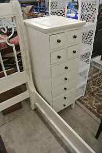 Small white dressers/lingerie chest