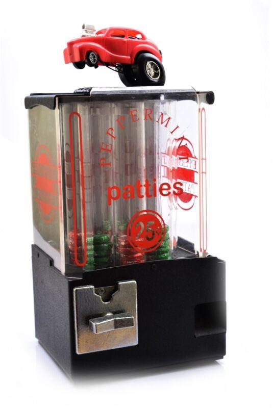 Vintage Peppermint Patties Vending Machine 25 Cent Hot Road