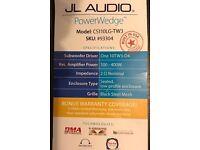 JL Audio power wedge sub