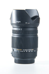 Sigma 18-250mm lens for Sony A mount