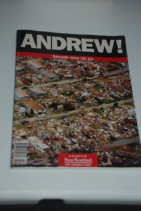 HURRICANE ANDREW BOOK DEVASTATING SOUTH FLORIDA OCT. 24, 1992