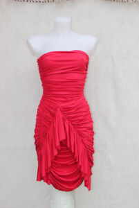 RED TIGHT FORMAL DRESS