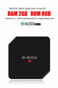 RBOX ANDROID BOX 2 GIGS OF RAM 8 GIG DRIVE NEW ARRIVAL