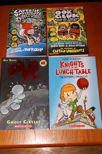 Comic book style books