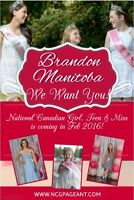 National Canadian Girl, Teen & Miss is Coming to Brandon!