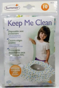 Summer Infant Keep Me Clean Disposable Potty Protectors, 10-Pack
