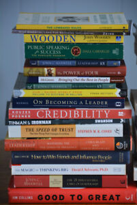Business, personal development and leadership books