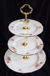 ALFRED MEAKIN 3 TIER CAKE STAND