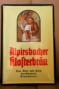 METAL Beer Sign from Germany