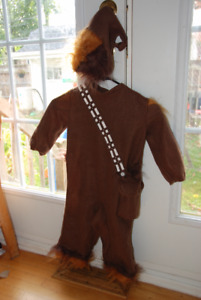 Costume d'halloween Chewbacca (size 18-24 mois)