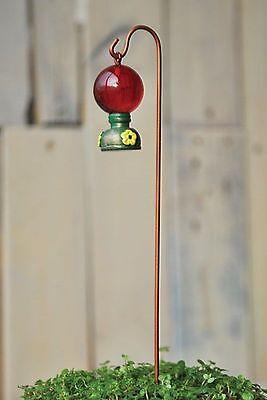 Miniature Fairy Garden Hummingbird Feeder w/ Shepherd's Hook - Buy 3 Save $5