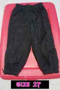 size 2T splash pants