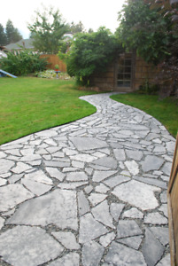 Marble and Sandstone Flagstone