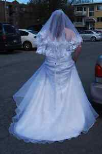 Wedding dress for sale West Island Greater Montréal image 2