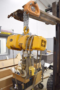 Kito 2 TON Electric Hoist with Trolley 3 Phase 220/440 volt