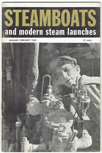 "Nine 1961/62/63 ""Steamboats and Modern Steam Launches"" Magazines Kingston Kingston Area image 6"