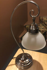 Small lamp for night-table or accent