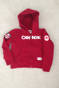 Canada Olympic Kids Hoodie - Size 5
