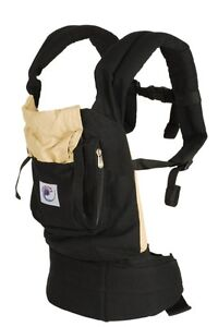 Black ERGO BABY Carrier - WITH Infant Insert London Ontario image 2