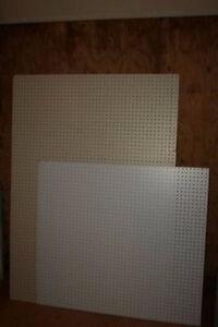 Sheets of Peg Board