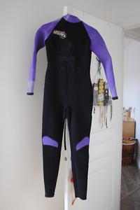 Wet suit femme 3mm small